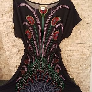Sz medium  printed dress